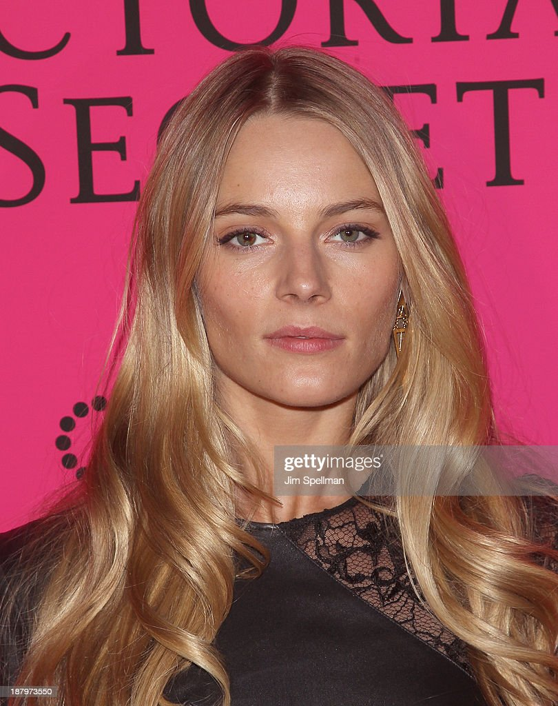 Model Ieva Laguna attends the after party for the 2013 Victoria's Secret Fashion Show at TAO Downtown on November 13, 2013 in New York City.