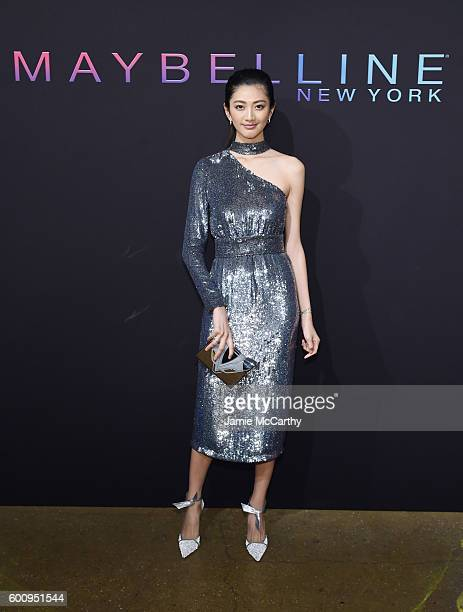 Model IHua Wu attends the Maybelline New York NYFW KickOff Party on September 8 2016 in New York City