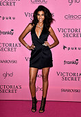 Model Imaan Hammam attends the after party for the annual Victoria's Secret fashion show at Earls Court on December 2 2014 in London England v