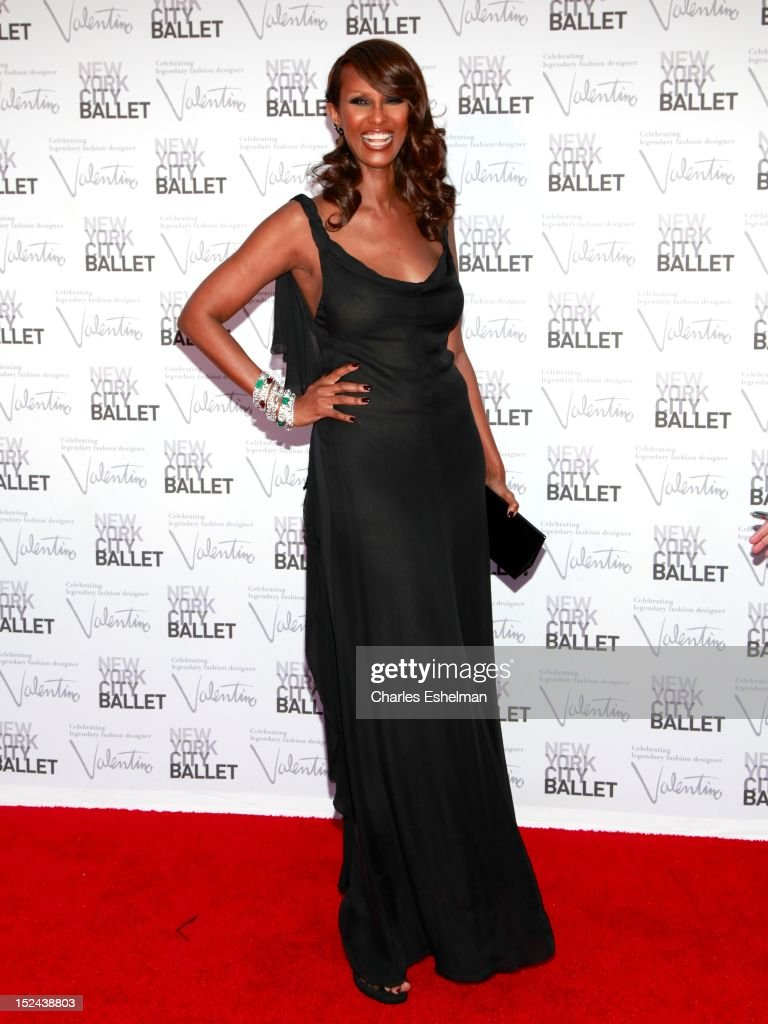 Model <a gi-track='captionPersonalityLinkClicked' href=/galleries/search?phrase=Iman+-+Fashion+Model&family=editorial&specificpeople=132463 ng-click='$event.stopPropagation()'>Iman</a> attends the 2012 New York City Ballet fall gala at David H. Koch Theater, Lincoln Center on September 20, 2012 in New York City.