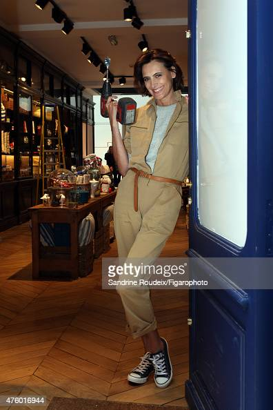 Model Ines de la Fressange is photographed for Madame Figaro in her new boutique on May 18 2015 in Paris France CREDIT MUST READ Sandrine...