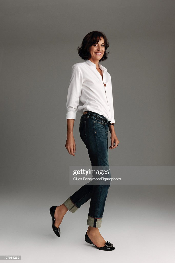 Model <a gi-track='captionPersonalityLinkClicked' href=/galleries/search?phrase=Ines+de+la+Fressange&family=editorial&specificpeople=2078500 ng-click='$event.stopPropagation()'>Ines de la Fressange</a> is photographed for Madame Figaro on September 7, 2010 in Paris, France. Published image. Figaro