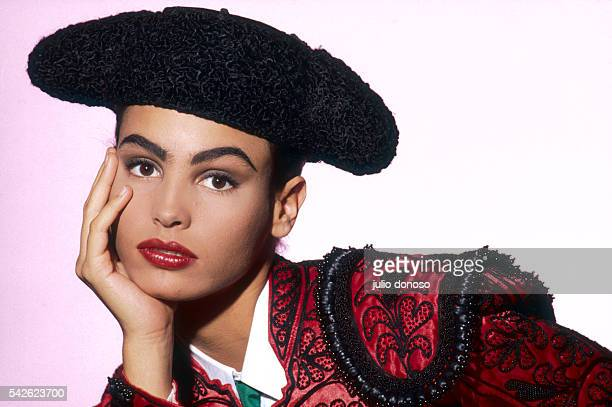 Model Ines Sastre in Matador Outfit