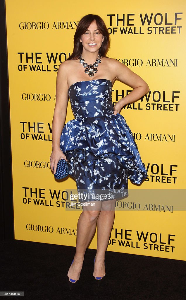 Model Ingrid Vandebosch attends the 'The Wolf Of Wall Street' premiere at Ziegfeld Theater on December 17, 2013 in New York City.