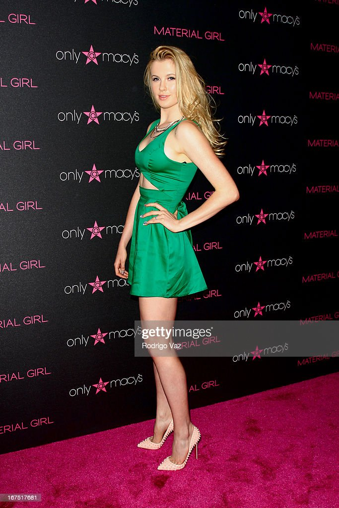 Model Ireland Baldwin arrives at Madonna's Fashion Evolution Pop-Up Exhibition at Macy's Westfield Century City on April 25, 2013 in Century City, California.
