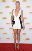 Model Ireland Baldwin arrives at NBC And Time Inc Celebrate 50th Anniversary Of Sports Illustrated Swimsuit Issue at Dolby Theatre on January 14 2014...