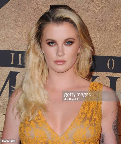 Model Ireland Baldwin arrives at The 2017 MAXIM Hot 100 Party at Hollywood Palladium on June 24 2017 in Los Angeles California