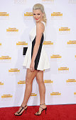 Model Ireland Baldwin arrives at the 50th Anniversary Celebration Of Sports Illustrated Swimsuit Issue at Dolby Theatre on January 14 2014 in...