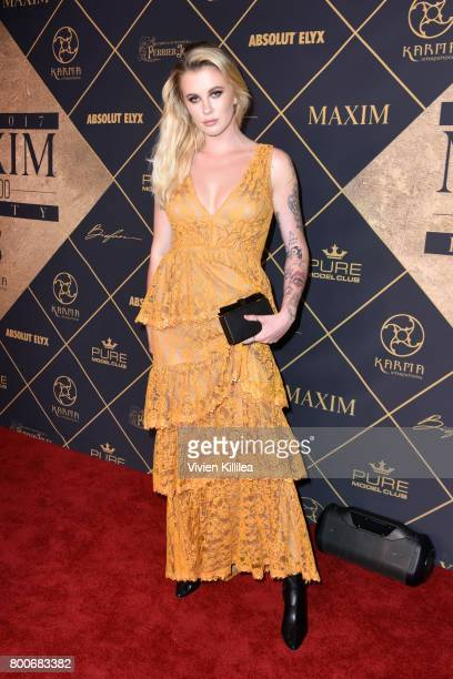Model Ireland Baldwin attends the 2017 MAXIM Hot 100 Party at Hollywood Palladium on June 24 2017 in Los Angeles California