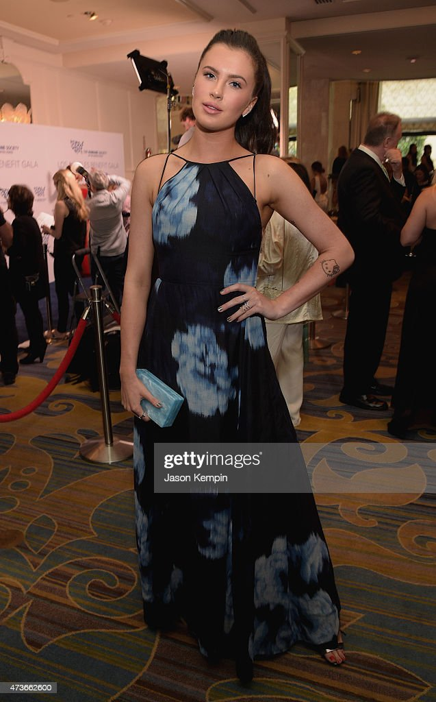 Model Ireland Baldwin attends The Humane Society Of The United States' Los Angeles Benefit Gala at the Beverly Wilshire Hotel on May 16 2015 in...