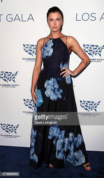 Model Ireland Baldwin attends the Humane Society of the United States' Los Angeles benefit gala at the Regent Beverly Wilshire Hotel on May 16 2015...