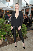 Model Ireland Baldwin wearing Max Mara attends Max Mara Celebrates Natalie Dormer The 2016 Women In Film Max Mara Face Of The Future at Chateau...