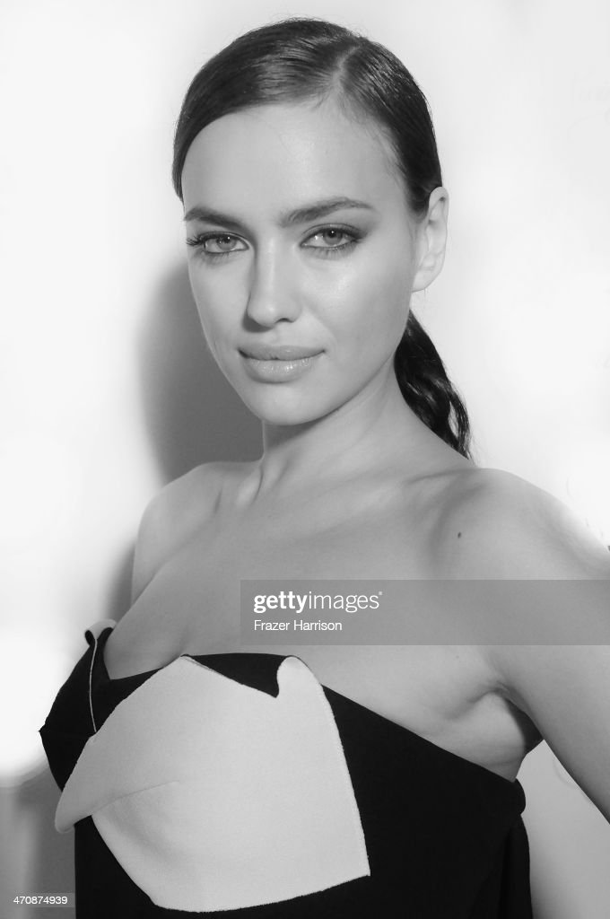 Model Irina Shayk attends Sports Illustrated Swimsuit South Beach Soiree at The Gale Hotel on February 20, 2014 in Miami, Florida.