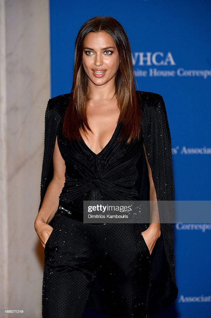 Model Irina Shayk attends the 100th Annual White House Correspondents' Association Dinner at the Washington Hilton on May 3, 2014 in Washington, DC.