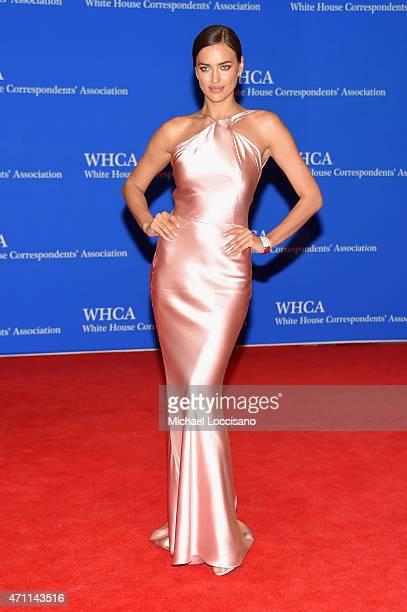 Model Irina Shayk attends the 101st Annual White House Correspondents' Association Dinner at the Washington Hilton on April 25 2015 in Washington DC