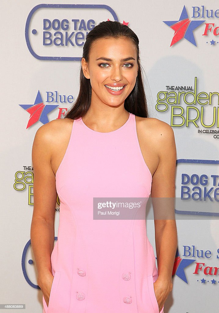 Model Irina Shayk attends the 2014 Annual Garden Brunch at the Beall-Washington House on May 3, 2014 in Washington, DC.