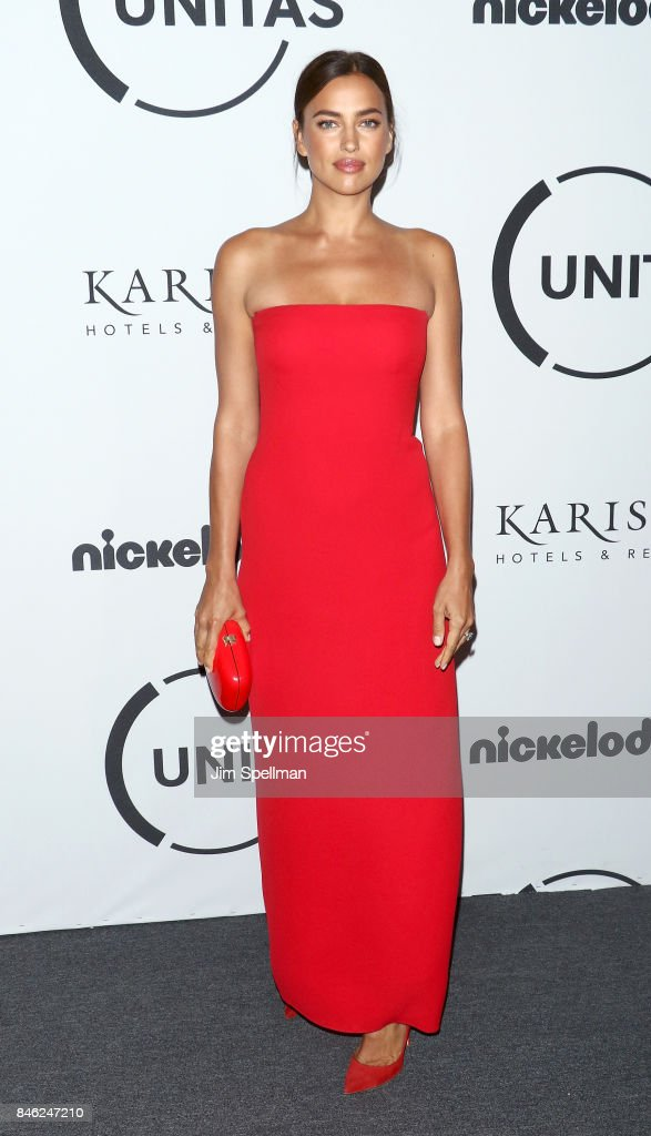 Model Irina Shayk attends the 2017 Unitas Gala at Capitale on September 12, 2017 in New York City.