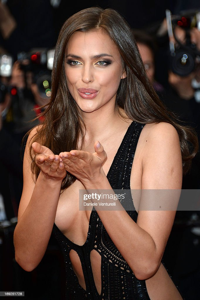 Model Irina Shayk attends the Premiere of 'All Is Lost' during The 66th Annual Cannes Film Festival at the Palais des Festivals on May 22, 2013 in Cannes, France.