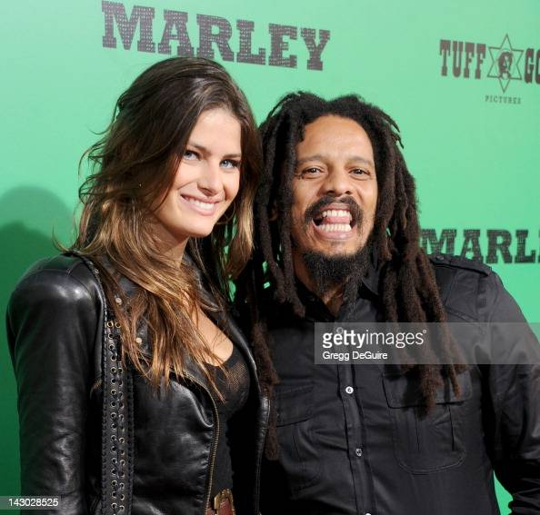 Model Isabeli Fontana and Rohan Marley arrive at the Los Angeles ...