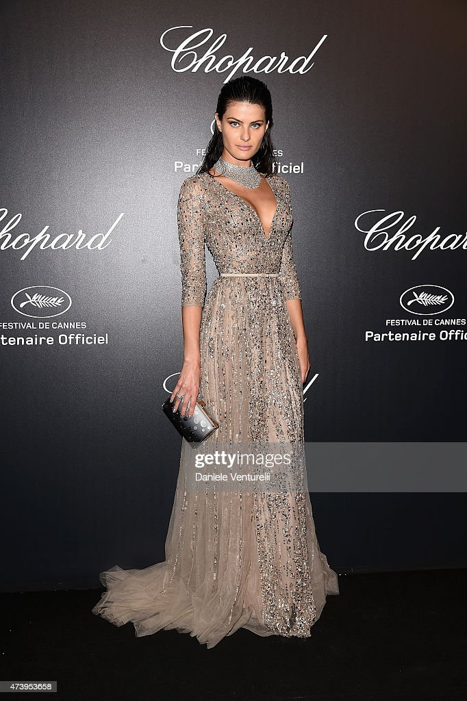 Model Isabeli Fontana attends a celebrity party during the 68th annual Cannes Film Festival on May 18, 2015 in Cannes, France.
