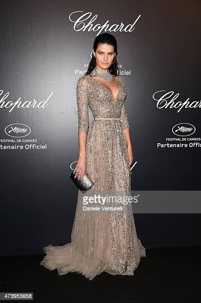 Model Isabeli Fontana attends a celebrity party during the 68th annual Cannes Film Festival on May 18 2015 in Cannes France