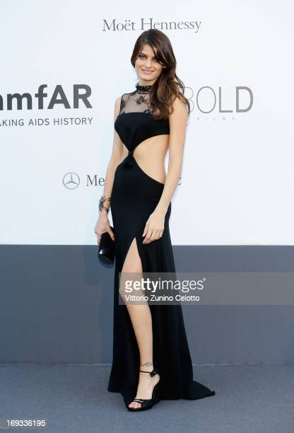 Model Isabeli Fontana attends amfAR's 20th Annual Cinema Against AIDS during The 66th Annual Cannes Film Festival at Hotel du CapEdenRoc on May 23...
