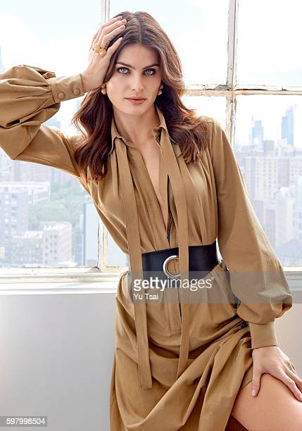 Model Isabeli Fontana is photographed for Harper's Bazaar Singapore on June 7 2016 in New York City ON DOMESTIC EMBARGO UNTIL NOVEMBER 1 2016 ON...