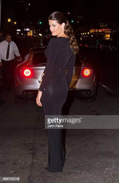 Model Isabeli Fontana is seen on the streets of New York on on September 5 2014 in New York City