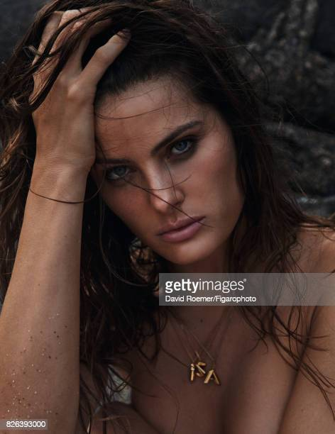 Model Isabeli Fontana poses for Madame Figaro on May 29 2017 in Rio de Janeiro Brazil Necklace PUBLISHED IMAGE CREDIT MUST READ David...