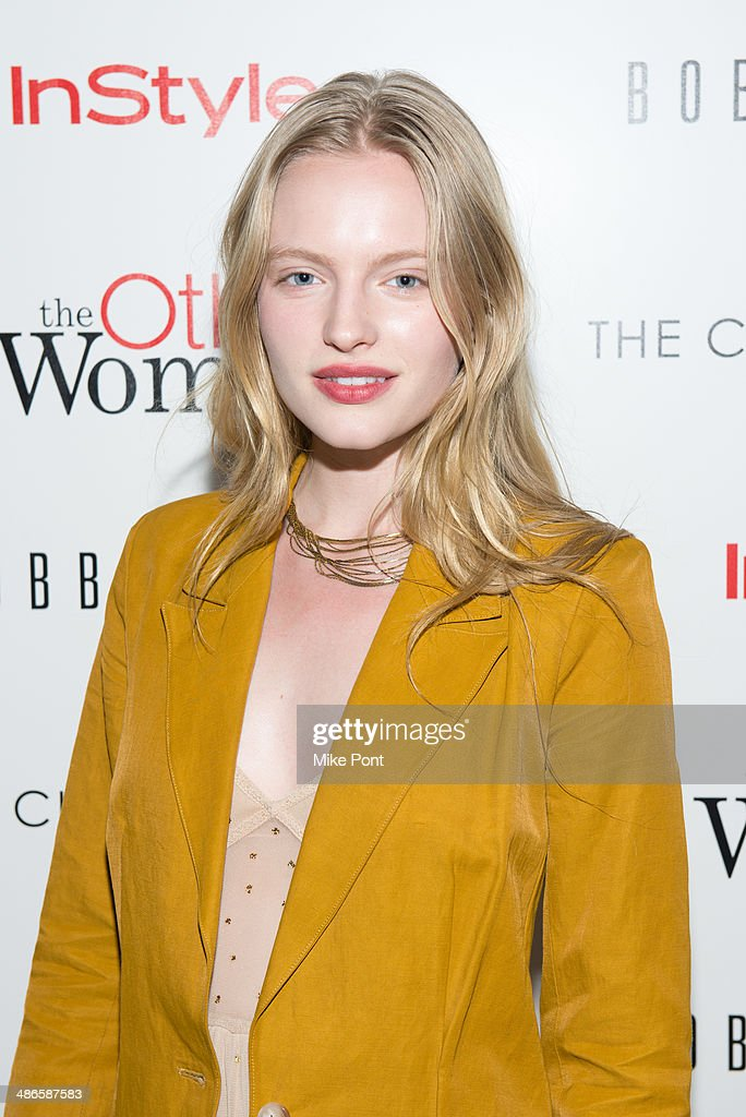 Model Isabella Farrell attends The Cinema Society & Bobbi Brown with InStyle screening of 'The Other Woman' at The Paley Center for Media on April 24, 2014 in New York City.