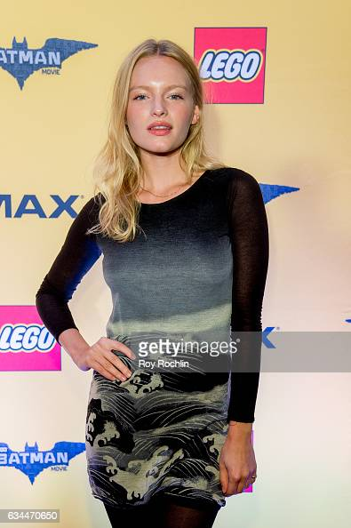 Model Isabella Farrell attends 'The Lego Batman Movie' New York Screening at AMC Loews Lincoln Square 13 on February 9 2017 in New York City