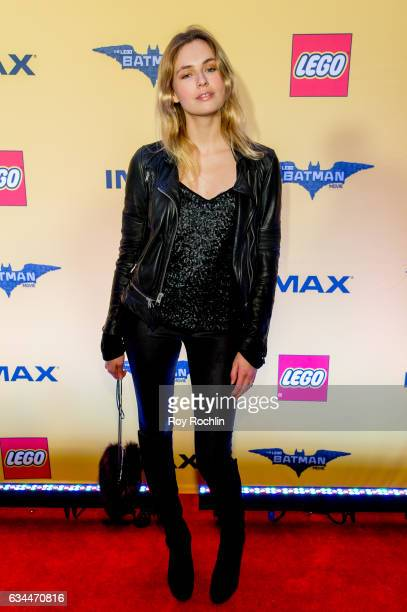 Model Isabelle Sauer attends 'The Lego Batman Movie' New York Screening at AMC Loews Lincoln Square 13 on February 9 2017 in New York City