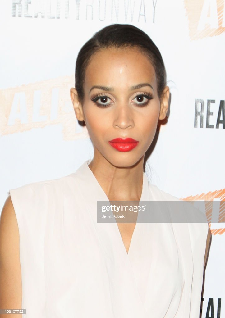 Model Isis King attends Reality Runway By Ali And Kris at the Ali and Kris Showroom on May 8, 2013 in New York City.
