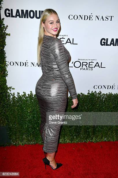 Model Iskra Lawrence attends Glamour Women Of The Year 2016 at NeueHouse Hollywood on November 14 2016 in Los Angeles California