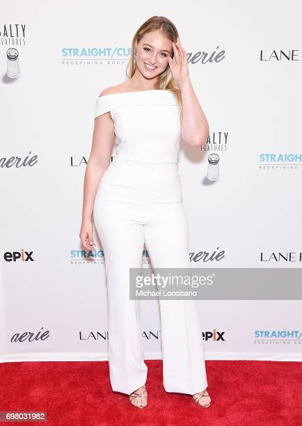 Model Iskra Lawrence attends the 'Straight/Curve' New York premiere at the Whitby Hotel on June 19 2017 in New York City