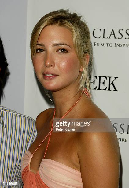Model Ivanka Trump attends a Grand Classics screening of 'Dr Strangelove' hosted by The Week magazine on August 5 2004 in New York City