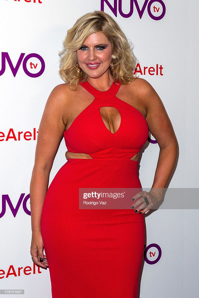 Model Ivory May Kalber attends NUVOtv Network launch party at The London West Hollywood on July 16, 2013 in West Hollywood, California.