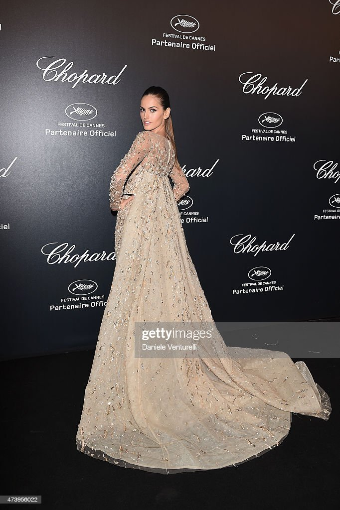 Model Izabel Goulart attends a celebrity party during the 68th annual Cannes Film Festival on May 18, 2015 in Cannes, France.