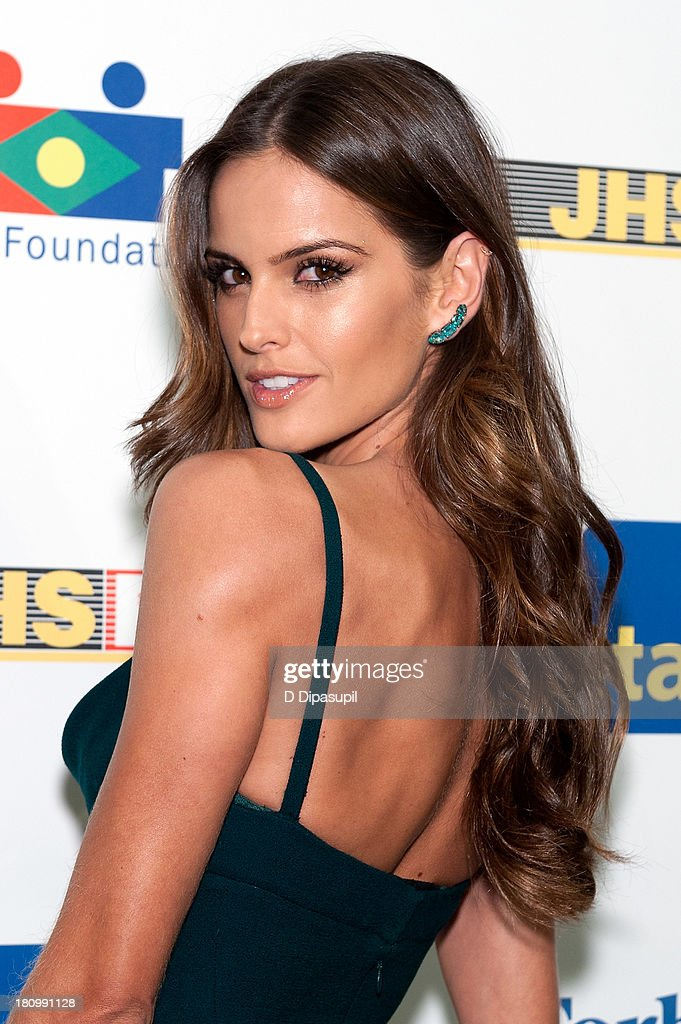 Model <a gi-track='captionPersonalityLinkClicked' href=/galleries/search?phrase=Izabel+Goulart&family=editorial&specificpeople=566749 ng-click='$event.stopPropagation()'>Izabel Goulart</a> attends the 11th Brazil Foundation NYC gala at The Museum of Modern Art on September 18, 2013 in New York City.