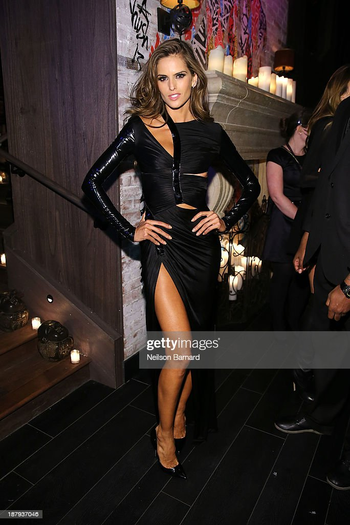 Model <a gi-track='captionPersonalityLinkClicked' href=/galleries/search?phrase=Izabel+Goulart&family=editorial&specificpeople=566749 ng-click='$event.stopPropagation()'>Izabel Goulart</a> attends the 2013 Victoria's Secret Fashion after party at TAO Downtown on November 13, 2013 in New York City.