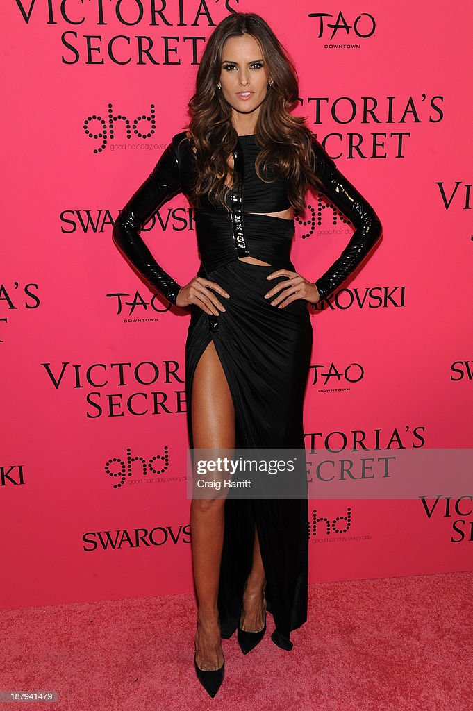 Model Izabel Goulart attends the 2013 Victoria's Secret Fashion after party at TAO Downtown on November 13, 2013 in New York City.