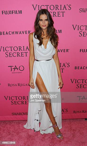 Model Izabel Goulart attends the 2015 Victoria's Secret Fashion Show after party at TAO Downtown on November 10 2015 in New York City