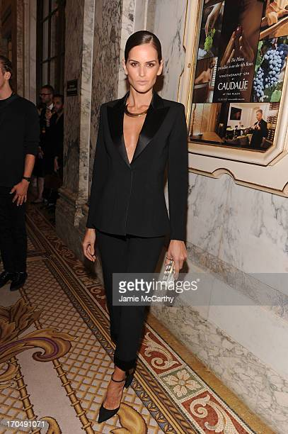 Model Izabel Goulart attends the 4th Annual amfAR Inspiration Gala New York at The Plaza Hotel on June 13 2013 in New York City