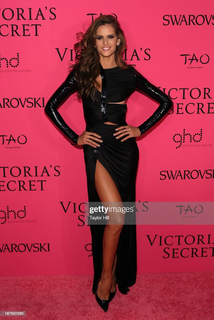 Model <a gi-track='captionPersonalityLinkClicked' href=/galleries/search?phrase=Izabel+Goulart&family=editorial&specificpeople=566749 ng-click='$event.stopPropagation()'>Izabel Goulart</a> attends the after party for the 2013 Victoria's Secret Fashion Show at TAO Downtown on November 13, 2013 in New York City.