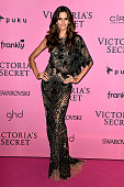 Model Izabel Goulart attends the after party for the annual Victoria's Secret fashion show at Earls Court on December 2 2014 in London England