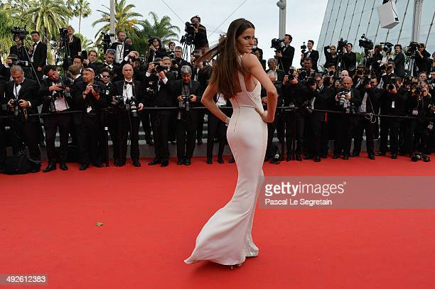 Model Izabel Goulart attends 'The Search' Premiere at the 67th Annual Cannes Film Festival on May 21 2014 in Cannes France