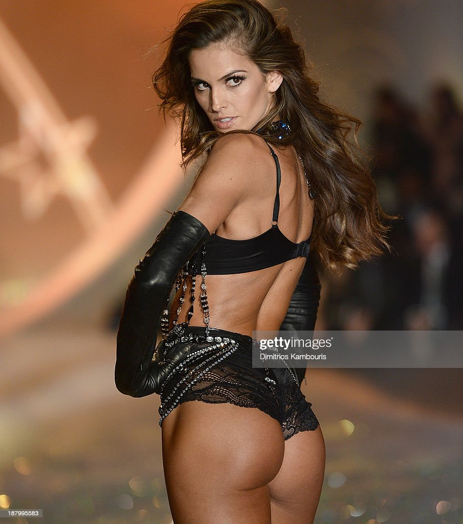 Model Izabel Goulart walks the runway at the 2013 Victoria's Secret Fashion Show at Lexington Avenue Armory on November 13, 2013 in New York City.