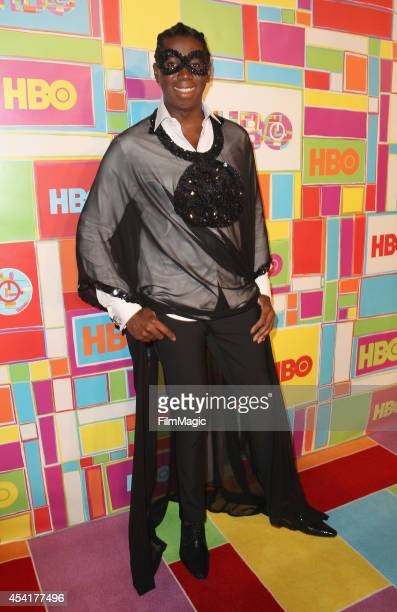 Model J Alexander attends HBO's Official 2014 Emmy After Party at The Plaza at the Pacific Design Center on August 25 2014 in Los Angeles California