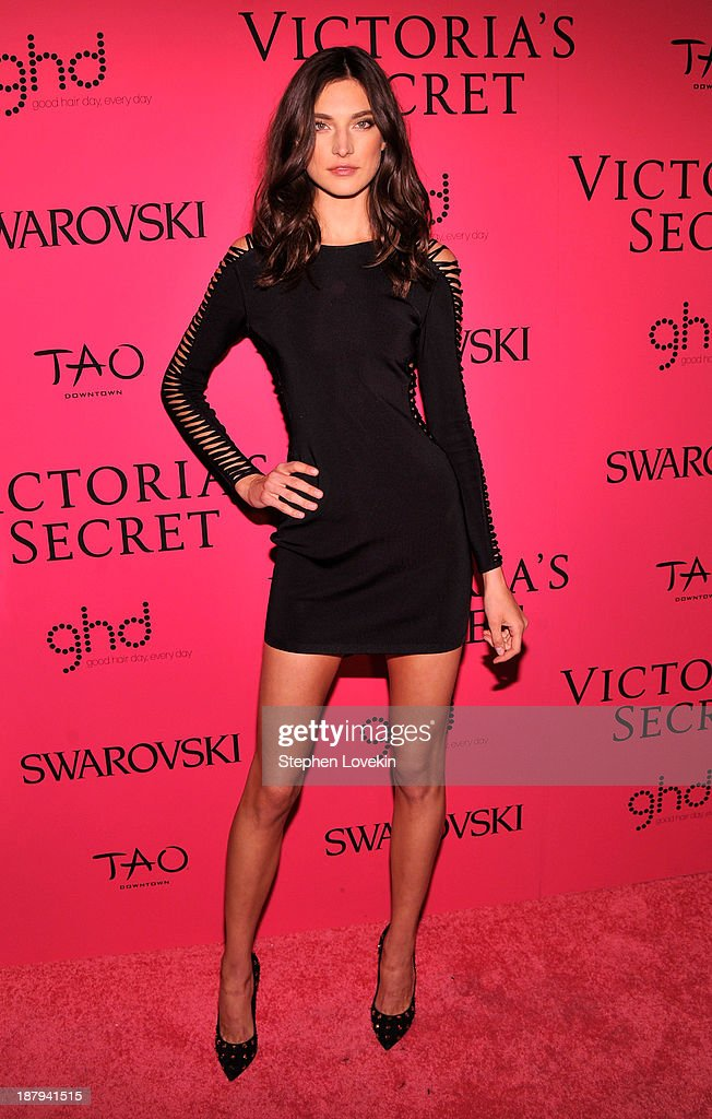 Model Jacquelyn Jablonski attends the 2013 Victoria's Secret Fashion Show at TAO Downtown on November 13, 2013 in New York City.