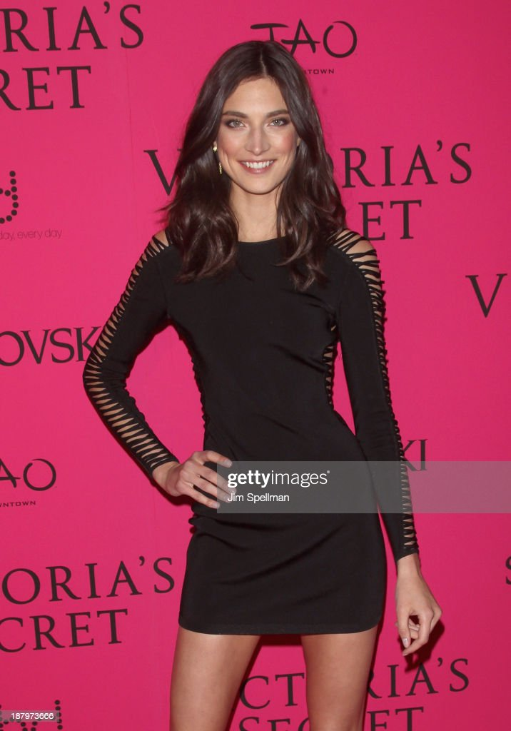 Model Jacquelyn Jablonski attends the after party for the 2013 Victoria's Secret Fashion Show at TAO Downtown on November 13, 2013 in New York City.
